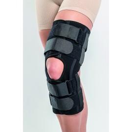 Orteza genunchi mobila cu articulatie reglabila