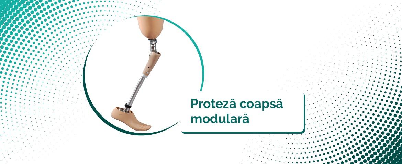 Proteza coapsa modulara